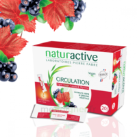 Naturactive Phytothérapie Fluides Solution buvable Circulation 20 Sticks/10ml à LA COTE-SAINT-ANDRÉ