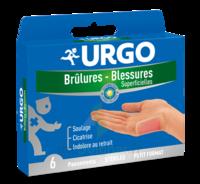 Urgo Brulures-blessures Petit Format X 6 à LA COTE-SAINT-ANDRÉ
