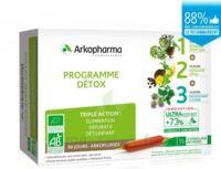 Arkofluide Bio Ultraextract Coffret programme détox 3x10 Ampoules/10ml à LA COTE-SAINT-ANDRÉ
