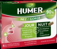 HUMER Nez/Gorge jour&nuit 15 comprimés à LA COTE-SAINT-ANDRÉ