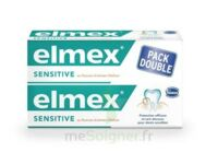 Elmex Sensitive Dentifrice, Tube 75 Ml, Pack 2 à LA COTE-SAINT-ANDRÉ