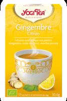 Yogi Tea Gingembre Citron à LA COTE-SAINT-ANDRÉ