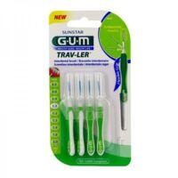 Gum Trav - Ler, 1,1 Mm, Manche Vert , Blister 4 à LA COTE-SAINT-ANDRÉ