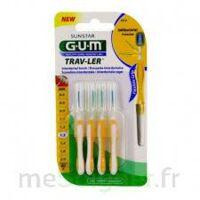 Gum Trav - Ler, 1,3 Mm, Manche Jaune , Blister 4 à LA COTE-SAINT-ANDRÉ