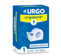 Urgopore Géant Sparadrap 2,5cmx9,14m dévidoir à LA COTE-SAINT-ANDRÉ