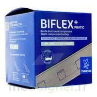 Biflex 16 Pratic Bande Contention Légère Chair 8cmx3m à LA COTE-SAINT-ANDRÉ