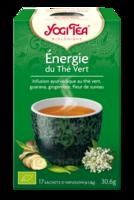 Yogi Tea Thé énergie du thé vert bio 17 Sachets à LA COTE-SAINT-ANDRÉ