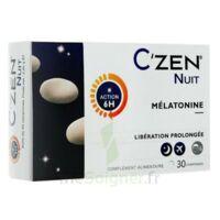 C'Zen Nuit Comprimés B/30 à LA COTE-SAINT-ANDRÉ