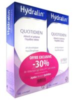 Hydralin Quotidien Gel lavant usage intime 2*200ml à LA COTE-SAINT-ANDRÉ