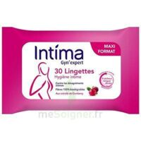 Intima Gyn'expert Lingettes Cranberry Paquet/30 à LA COTE-SAINT-ANDRÉ