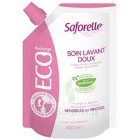 Saforelle Solution Soin Lavant Doux Eco-recharge/400ml à LA COTE-SAINT-ANDRÉ