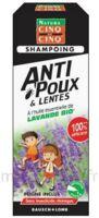 Cinq sur Cinq Natura Shampooing anti-poux lentes lavande 100ml à LA COTE-SAINT-ANDRÉ