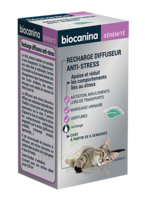 Biocanina Recharge Pour Diffuseur Anti-stress Chat 45ml à LA COTE-SAINT-ANDRÉ