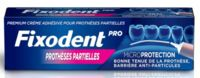Fixodent Pro Crème Adhésive Pour Prothèse Partielle T/40g à LA COTE-SAINT-ANDRÉ