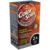 COLOR&SOIN Kit coloration permanente 2A brun azuré à LA COTE-SAINT-ANDRÉ