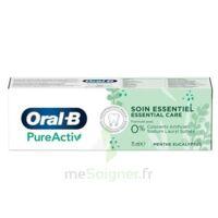 Oral B Pureactiv Dentifrice Soin Essentiel T/75ml à LA COTE-SAINT-ANDRÉ