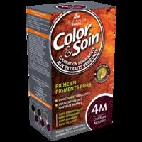 COLOR&SOIN Kit coloration permanente 4M châtain acajou à LA COTE-SAINT-ANDRÉ