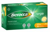 BEROCCA ENERGIE Comprimés effervescents orange B/30 à LA COTE-SAINT-ANDRÉ